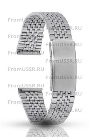 Металлический браслет мелкое плетение - фото 4692