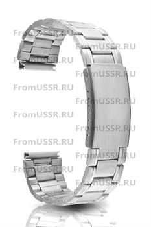 Металлический браслет крупное звено - фото 4947
