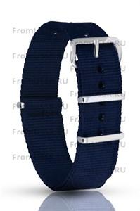 Нейлоновый ремень синий 18мм